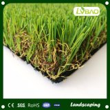 Uの形ヤーン4つのカラー装飾的な景色の合成物質の芝生