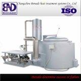 Fornalha de derretimento 400kg do gás do alumínio e do cobre