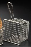 Quadratischer Edelstahl-Minifischrogen-Korb (HBK-SS-006)