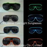 EL verdrahtet kaltes Licht-Sonnenbrillen