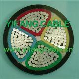 XLPE/PVC VE de isolamento do cabo de alimentação de baixa tensão