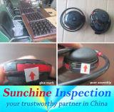 Servizi di controllo di controllo di qualità di controllo/cuffie avricolari, delle cuffie e dei trasduttori auricolari di qualità di elettronica