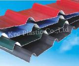 Folha ondulada do PVC