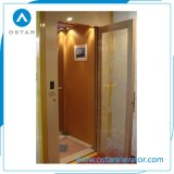 mini binnenshuis Gebruikte Lift 320kg 0.5m/S, de Lift van de Passagier van de Villa
