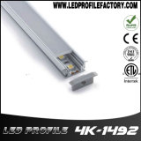 Pn4149 profil aluminium encastré LED pour éclairage de plancher