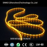 Alte strisce impermeabili chiare di IP65 SMD 5050 DC12V 14.4W RGB LED