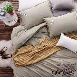 Drap de couverture de modèle, drap en bambou de coton de vigne, amorçage du coton 300