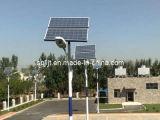 Pour LED en verre solaire lampadaire