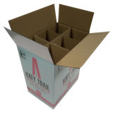 Doppel-wandiger gewölbter Karton-Kasten für Wein-Flasche