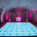 50x50cm Outdoor LED étanche la vidéo interactive sensibles des tuiles de plancher de danse embaucher de New York