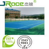 Outdoor tr-PU Sports Surface de la cour de basket-ball/tennis/Vollyball/Badminton