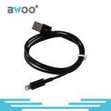 Цветастый поручая кабель мобильного телефона кабеля данным по USB молнии микро-