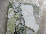 Плитка Mable домашнего Onyx мрамора изумрудно-зеленого украшения каменная