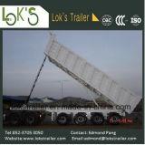 Axles 45cbm 4 поднимают трейлер Tipper сброса