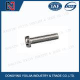 ISO1580 스테인리스 배열된 팬 헤드 나사