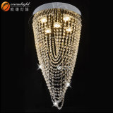 GU10/chips LED String travando lustre de cristal luz quente Om4200