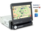 1-din 7inc Detachable Touch Screen tft-lcd with DVD/TV/Radio/RDS/UBS/SD/ Bluetooth/ Ipod input / GPS Navigation (CM-8008BG)