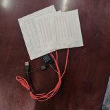Kundenspezifische Kleidung-Umhüllungen-Weste-erhitzte Auflagen der Größen-5V mit USB-Stecker