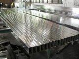 Tubo AISI 304 de acero inoxidable Plaza