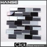 Vetro Mosaico, Tira de blanco y negro mosaico de vidrio de cristal