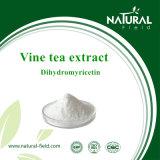 Polvere di 50% Dihydromyricetin dall'estratto della pianta dell'estratto del tè della vite del HPLC