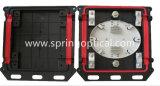Мини-FTTH квадратных Gjs (04) 5c оптоволоконный соединитель совместной закрытие 12 Core 2 в 2,