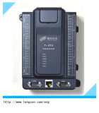 8ai 8di를 가진 3 RS485/232 직렬 포트 및 이더네트 PLC T-919 4do와 4PT100 PLC 관제사