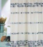 100% Polyester pongés rideau de douche d'impression - 2