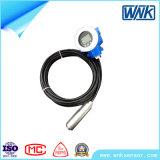 地下水の監視システムのためのIP68 Submerisble圧力水液体の水平なセンサー