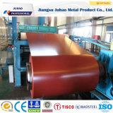 Bobina de acero cubierta 304 colores impresa