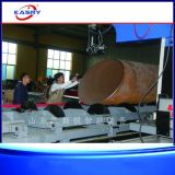 Automatisch Ladend en Voedend CNC de Vlam CNC van het Plasma van de Lijn van de Kruising van het Profiel van de Pijp van het Metaal van de Grote Diameter Scherpe Machine