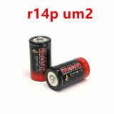 Batterie à usage intense R14P de la batterie principale de taille C