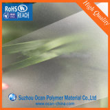 Feuille rigide claire de PVC givrée par amende pour l'impression d'écran en soie
