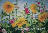 Oil Paiting(Sunflower)