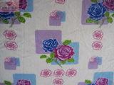 Rose Printting veludo macio (HZS-00158)