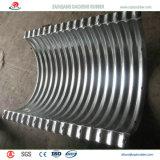 O Semi-Circle corrugado flangeou tubulação de aço galvanizada Nestable para a sargeta Railway a Spain