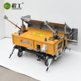 Стена конкретного смесителя строительной площадки автоматическая штукатуря машина для картины