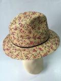 패턴 중절모 종이 밀짚 모자 인쇄