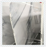 タイルのためのOnxyの中国の白い大理石の平板