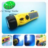 Ly-SD5020 de color naranja con radio FM cargador de móvil y la Sirena Manivela Radio linterna solar
