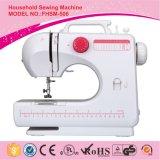 Máquina de coser portable con el ojal auto 4-Step que cose, máquina de coser del mini ojal de Overlock de la alta calidad, mini tope Fhsm-506 de la personalización de Overlock mini de Overlock