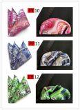 Intero Hankies tessuti della casella del jacquard di vendita 100% quadrato di seta (FY13)