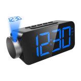6,5-дюймовый светодиодный проекции FM радио с будильником
