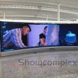 Alimentation directe en usine ultra-haute définition 4K 16 : 9 Taux de rafraîchissement élevé Fine Pitch mur vidéo à affichage LED pour salle de contrôle/cinéma