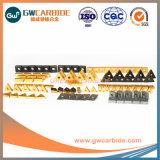CVD PVDのコーティングの炭化物のIndexable回転製粉の挿入