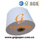 Buena Quallity recubierto superior Jumbo rollos de papel térmico