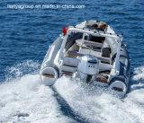 Bateaux gonflables de fibre de verre de constructeurs de bateaux de côte de Liya 19feet à vendre