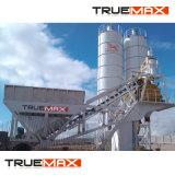 Máquina de construcción de 60m3/H móvil media planta mezcladora de concreto