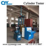 Essai de pression hydraulique de la machine pour l'oxygène bouteille de gaz