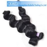 5A бразильского Jet человеческого волоса черного цвета